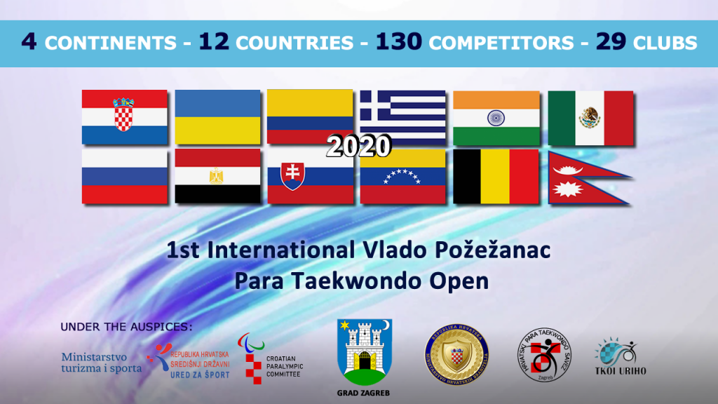 1st International Vlado Pozezanac Para Taekwondo Open Poomsae Online Martial Events